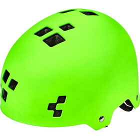 Cube Dirt Helmet green